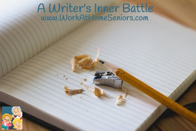 A Writer's Inner Battle