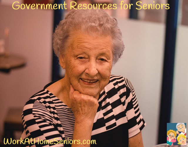 Government Resources for Seniors! A Free Article from WorkAtHomeSeniors.com!