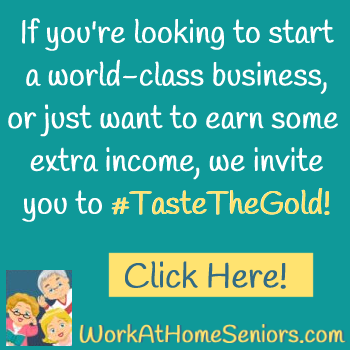 #TasteTheGold with an Organo Work-at-Home Direct Sales Business!